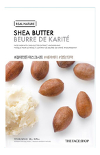 The Face Shop Тканевая маска для лица с маслом ши Real Nature Mask Shea Butter 20г