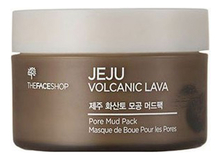 The Face Shop Маска для лица Jeju Volcanic Lava Pore Mud Pack 100мл