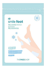 The Face Shop Патчи для ног Smile Foot Relaxing Patch 4шт