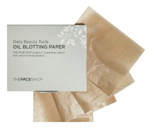 The Face Shop Матирующие салфетки Daily Beauty Tools Oil Blotting Paper 70шт