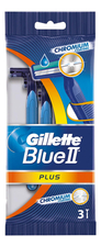 Gillette Одноразовый станок Blue II Plus