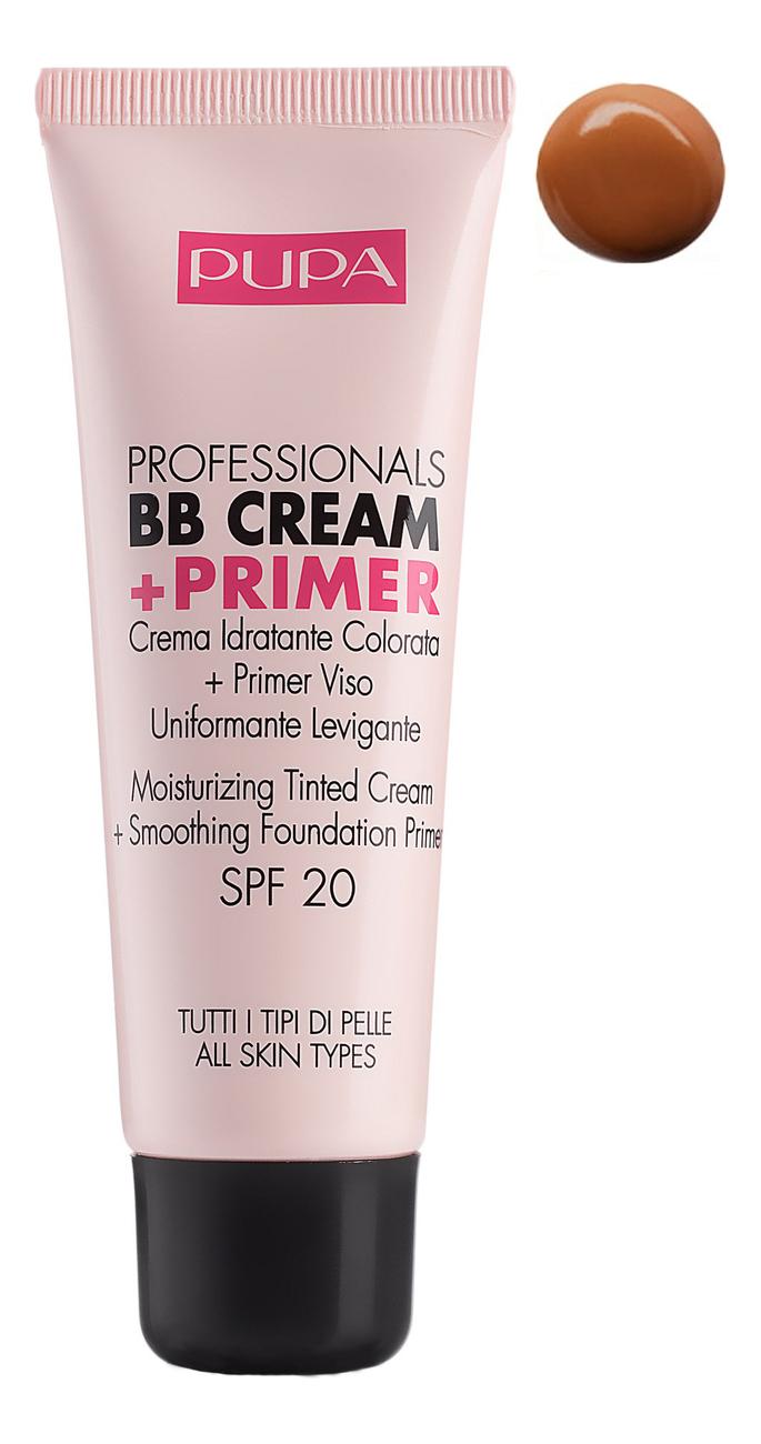 Купить Тональный крем Professionals BB Cream + Primer SPF20 50мл: 002 Sand, PUPA Milano