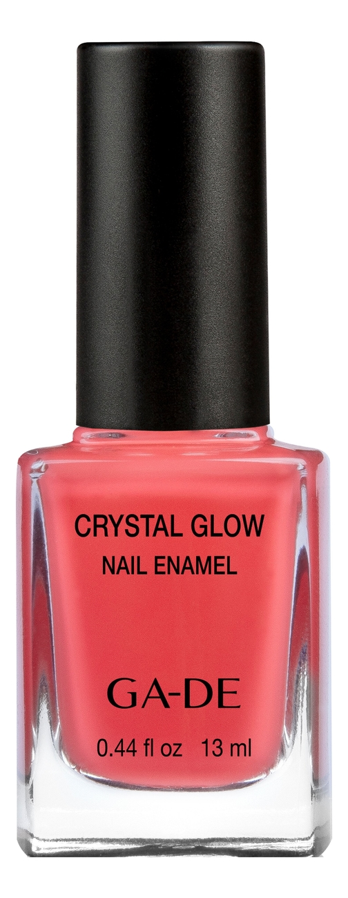 Лак для ногтей Crystal Glow Nail Enamel 13мл: 534 Coral Berry