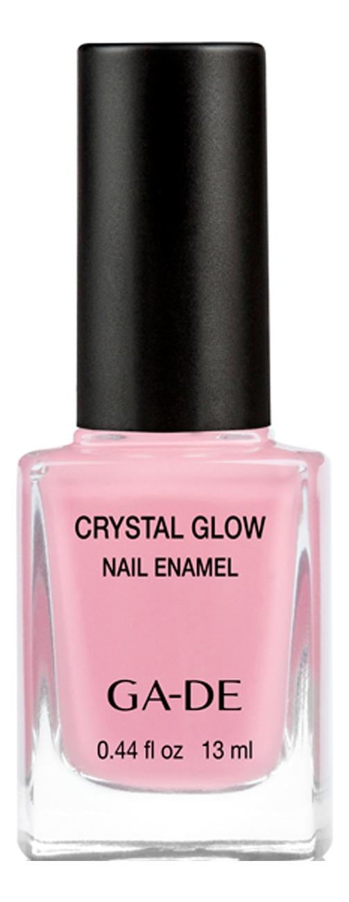Лак для ногтей Crystal Glow Nail Enamel 13мл: 537 Pink Party