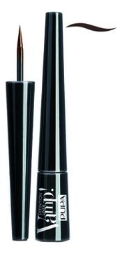 Подводка для глаз Vamp Definition Liner 2,5мл: 200 Brown pupa подводка для глаз vamp definition liner оттенок 100 extrablack