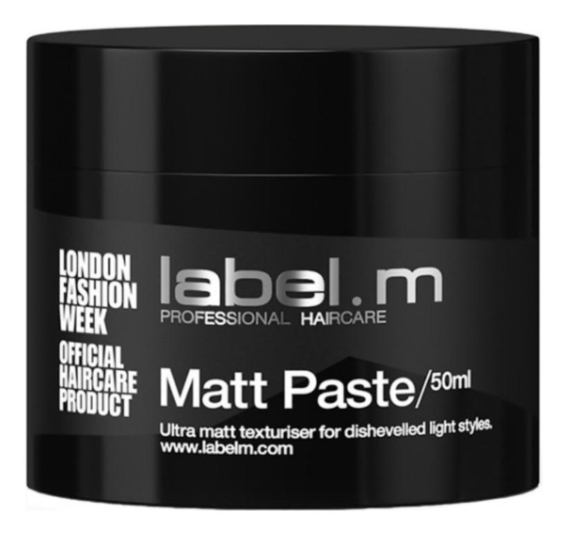 Купить Паста матовая для волос Matt Paste: Паста 50мл, Label.m