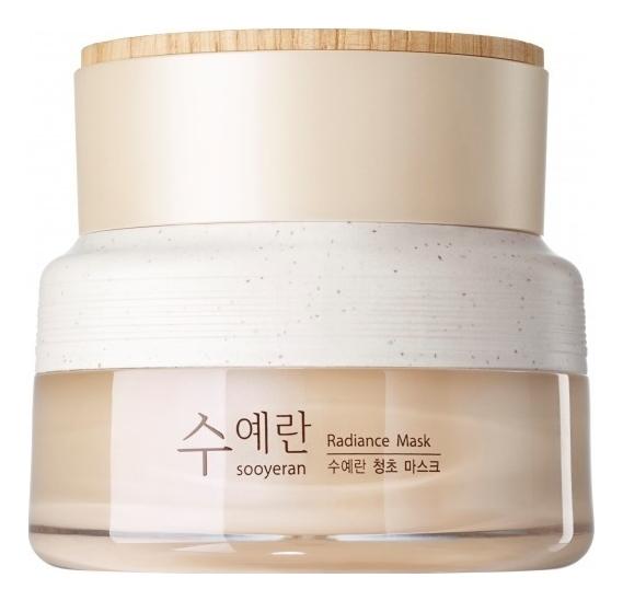 Маска ночная для яркости кожи лица Sooyeran Radiance Mask 80мл the saem тонер sooyeran radiance 150 мл