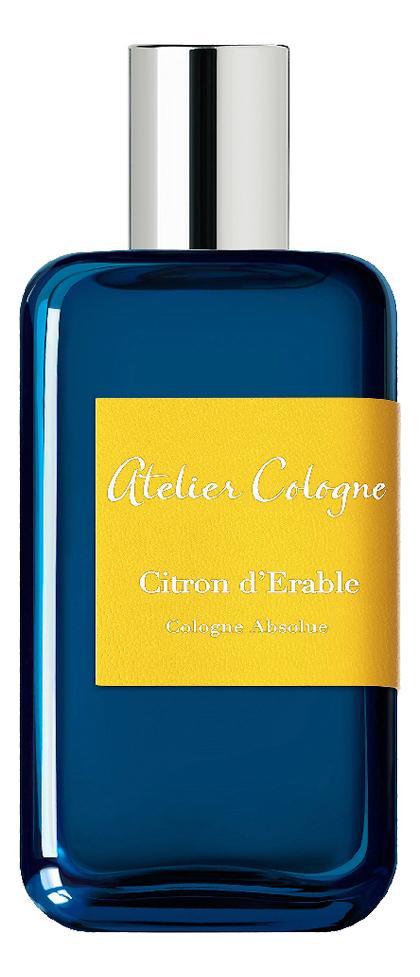 Atelier Cologne Citron d`Erable: парфюмерная вода 30мл парфюмерная вода ateliercologne trefle pur 100 мл