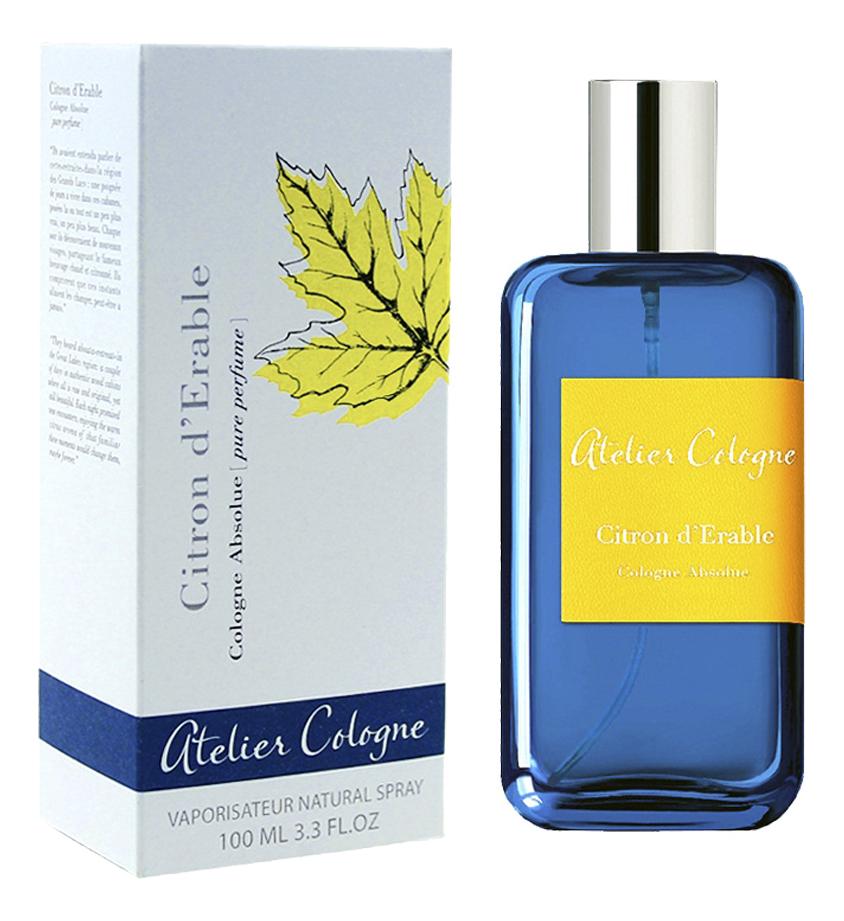 Citron d`Erable: парфюмерная вода 100мл недорого