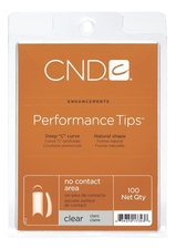 CND Типсы Clear Performance