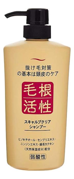 Шампунь для укрепления и роста волос Scalp Clear Shampoo: Шампунь 550мл floralis шампунь крапива для укрепления и роста волос 750 г