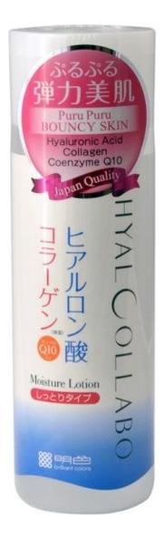 Купить Глубокоувлажняющий лосьон для лица Hyalcollabo Q10 Moisture Lotion 180мл, Meishoku