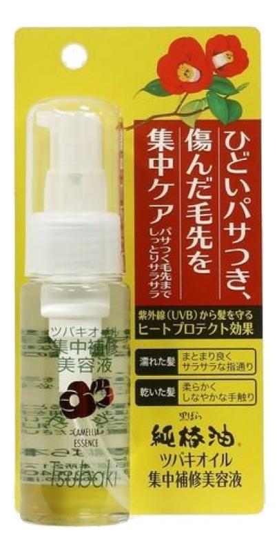 Эссенция для волос с маслом камелии японский Camellia Oil Repair Hair Essence 50мл недорого