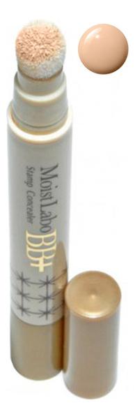 Купить Точечный консилер со спонжем Moist Labo BB+ Stamp Concealer 28г: 01 Натуральный бежевый, Meishoku
