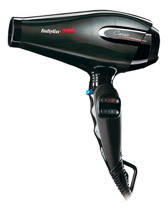 Фото - Фен для волос Caruso BAB6520RE 2400W (2 насадки) babyliss pro caruso ion 2400w