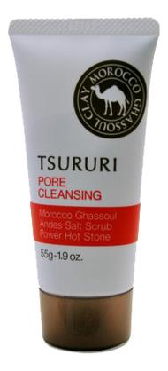 Очищающий поры крем с термоэффектом Tsururi Pore Cleansing Cream 55г недорого