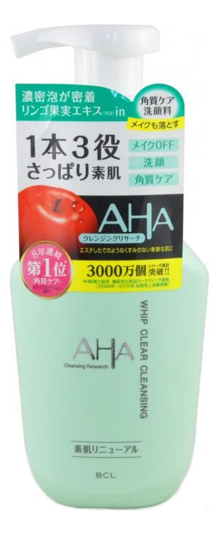 Жидкое мыло для лица с фруктовыми кислотами Aha Whip Cleansing 150мл