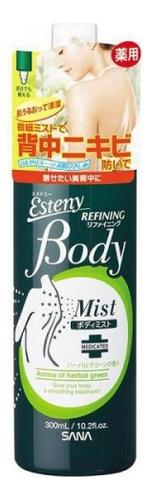 Лосьон-спрей для проблемной кожи тела Esteny Body Refining Mist 300мл (аромат свежих трав) недорого
