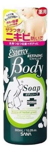 Очищающее средство для проблемной кожи тела Esteny Body Refining Soap 300мл (аромат свежих трав) недорого