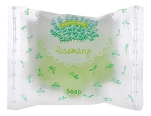 Master Soap Мыло косметическое Розмарин Natural Herb Rosemary Soap 25г