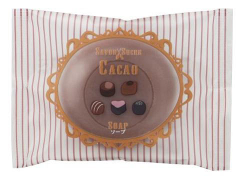 Мыло косметическое Какао Savon Sucre Cacao Soap 30г