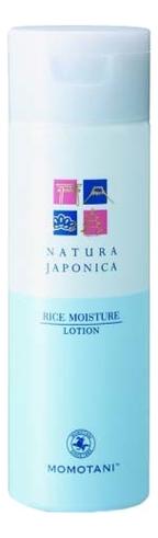 Купить Увлажняющий лосьон для лица с экстрактом ферментированного риса Natura Japonica Rice Moisture Lotion 180мл, MOMOTANI