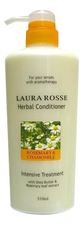 Растительный кондиционер для волос Ромашка и розмарин Herbal Conditioner Rosemary & Chamomile 510мл