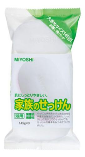 Туалетное мыло на основе натуральных компонентов Additive Free Soap 3*145г недорого