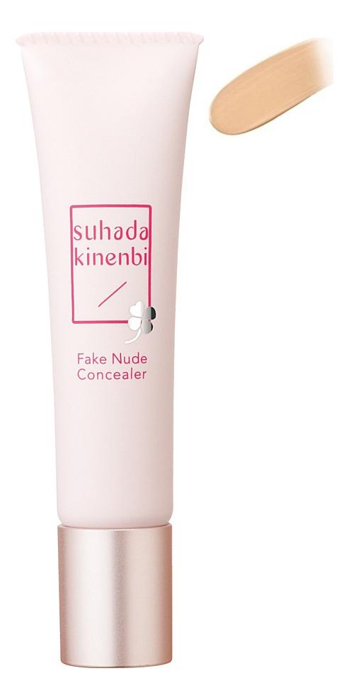 Универсальный корректор для лица Day Flawless Suhada Kinenbi Fake Nude Concealer SPF20 PA++ 15г: No 01 недорого