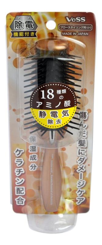 Щетка массажная с кератином и антистатическим эффектом Anti-Static Hair Brush: малая