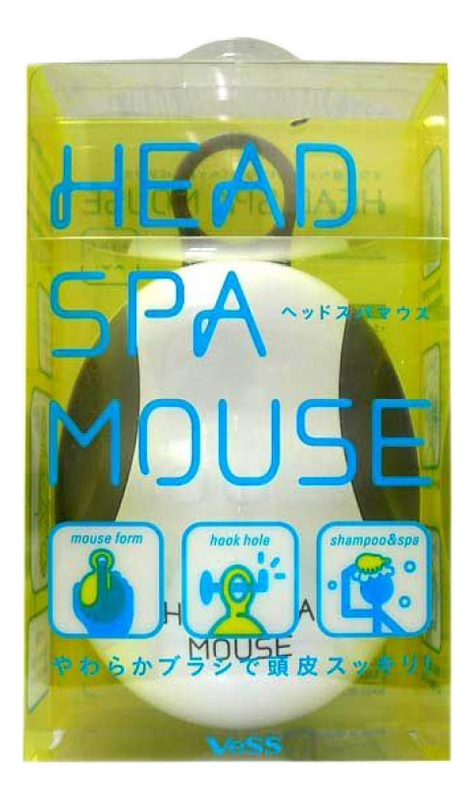 Массажер для кожи головы Head Spa Mouse (компьютерная мышь) breo idream 5 массажер для головы