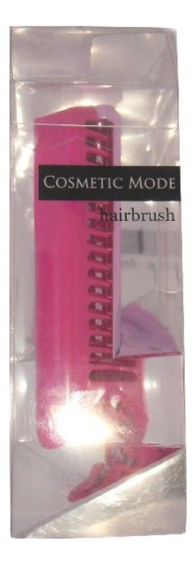 Расческа-щетка компактной формы Cosmetic Mode Hair Brush: розовая