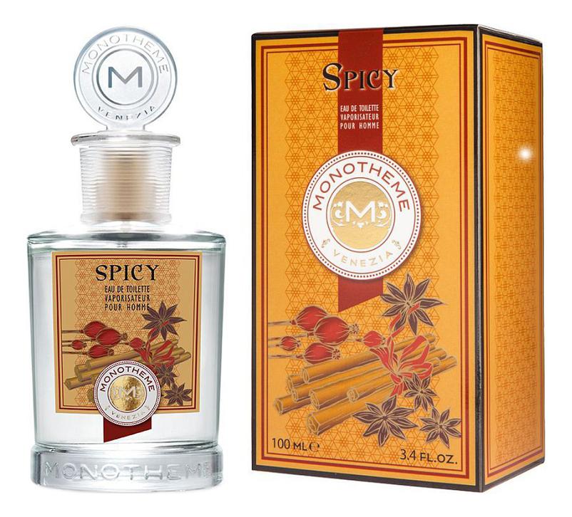 Купить Spicy: туалетная вода 100мл, Monotheme Fine Fragrances Venezia