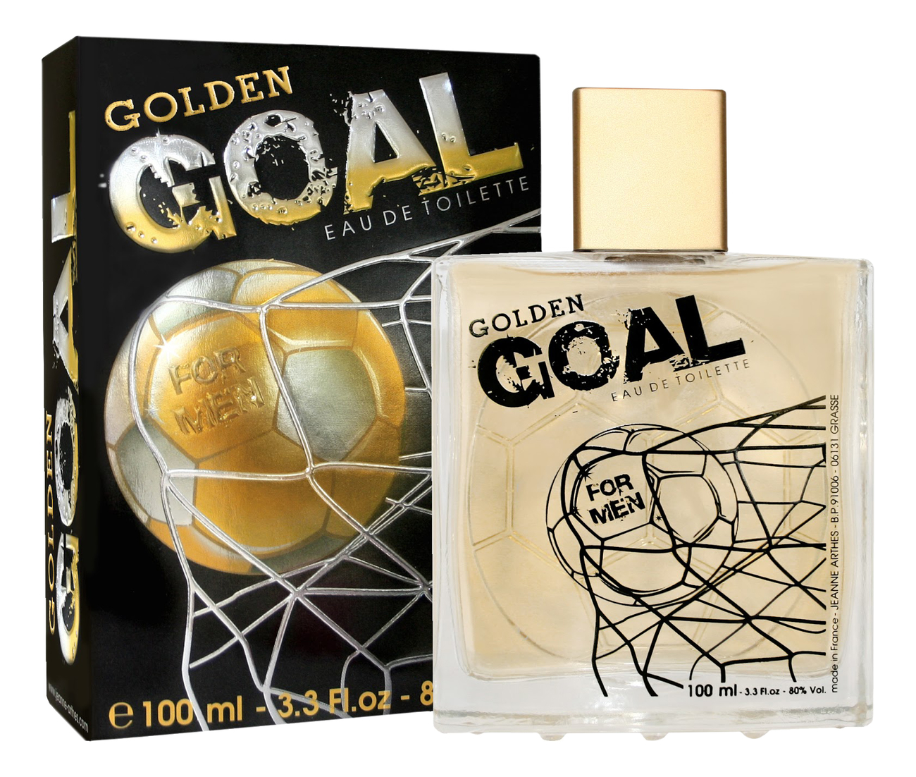 Jeanne Arthes Golden Goal: туалетная вода 100мл фото