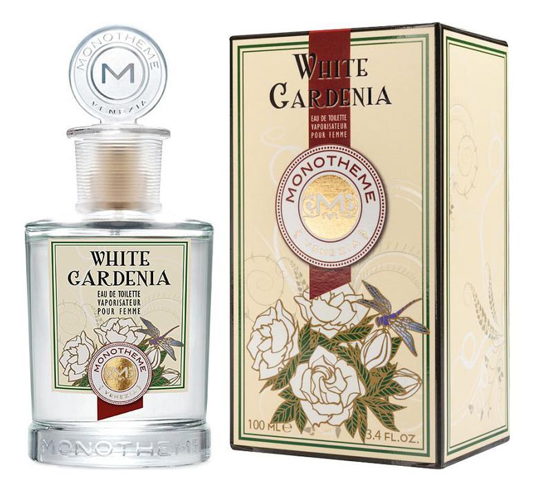 Купить White Gardenia: туалетная вода 100мл, Monotheme Fine Fragrances Venezia