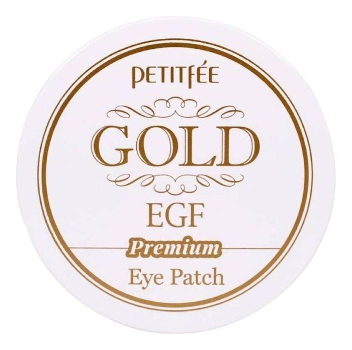 Гидрогелевые патчи для области вокруг глаз Hydro Gel Gold & EGF Premium Eye Patch: Патчи 60шт