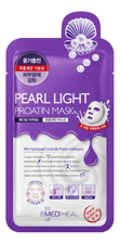 Mediheal Протеиновая маска для лица с экстрактом жемчуга Pearl Light Proatin Mask 27мл