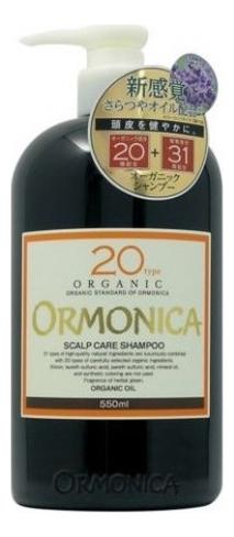Органический шампунь для волос и кожи головы Organic Scalp Care Shampoo: Шампунь 550мл недорого