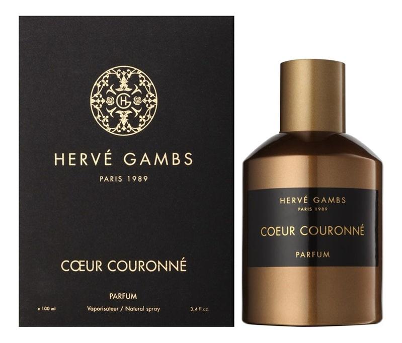 цена Herve Gambs Paris Coeur Couronne: духи 100мл онлайн в 2017 году