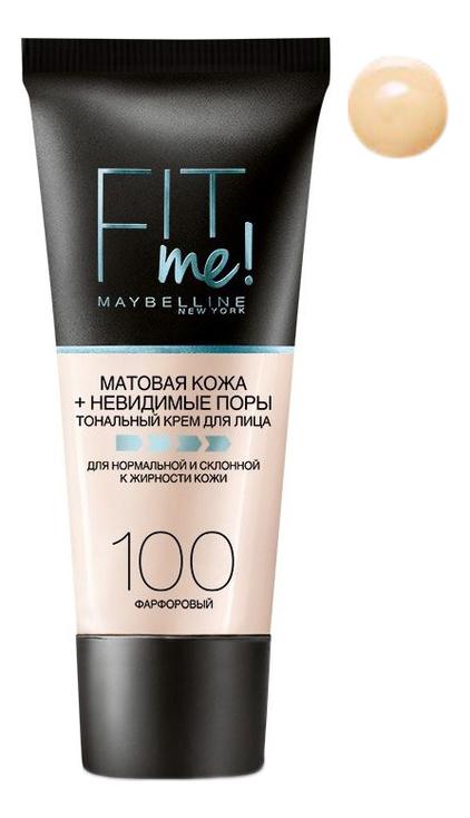 Тональный крем Fit Me! 30мл: 100 Фарфоровый artistry тональный крем