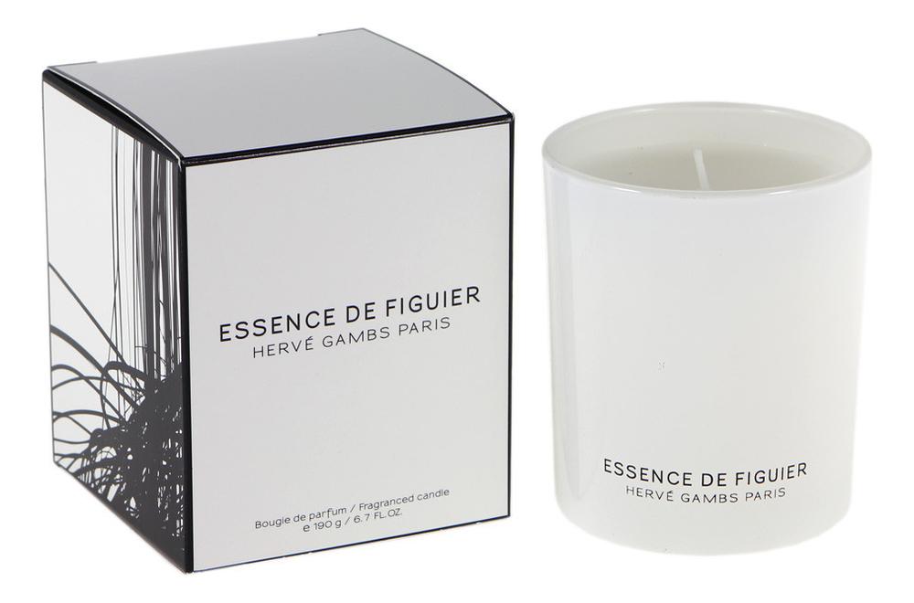 Купить Essence De Figuier: ароматическая свеча 190г, Herve Gambs Paris