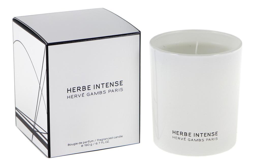 Купить Herbe Intense: ароматическая свеча 190г, Herve Gambs Paris