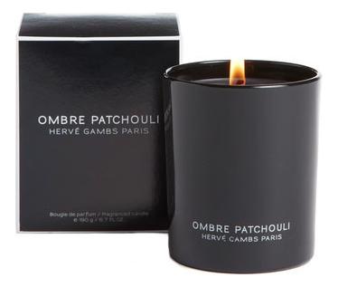 Купить Ombre Patchouli: ароматическая свеча 190г, Herve Gambs Paris
