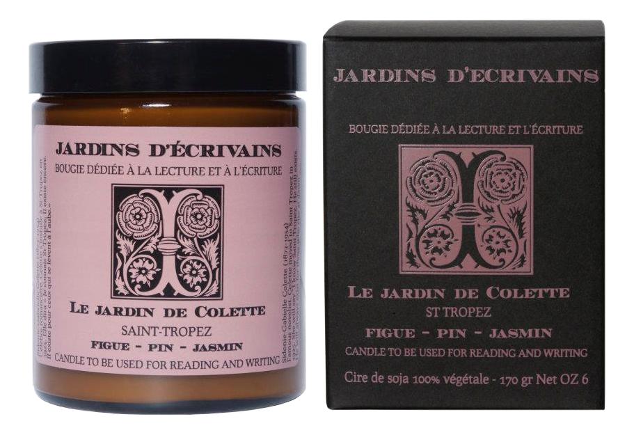 Ароматическая свеча Le Jardin De Colette Saint Tropez: 170г