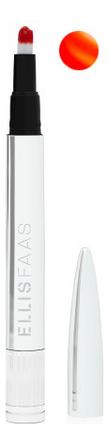 Купить Помада для губ Glazed Lips 2, 8мл: L304 Sheer Orange, ELLIS FAAS
