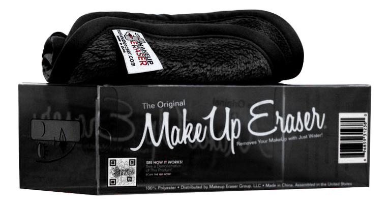 Салфетка для снятия макияжа The Original : черная