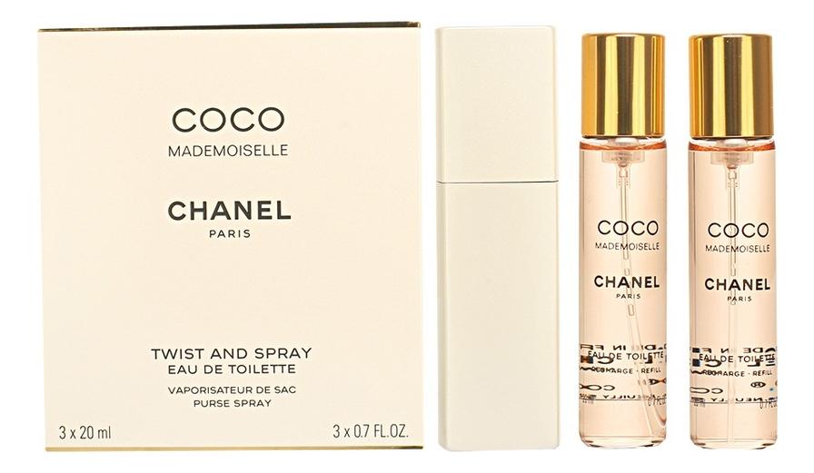 Chanel Coco Mademoiselle Eau De Toilette: туалетная вода 3*20мл стоимость