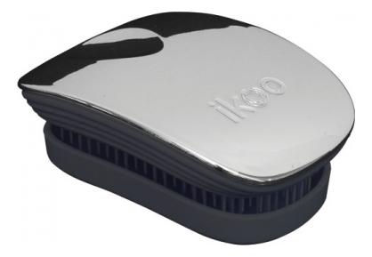 Расческа для волос в металлическом корпусе Pocket Black Metallic (мини-версия): Oyster ikoo pocket расческа для волос black oyster metallic
