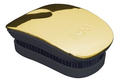Расческа для волос в металлическом корпусе Pocket Black Metallic (мини-версия): Soleil ikoo pocket расческа для волос black oyster metallic