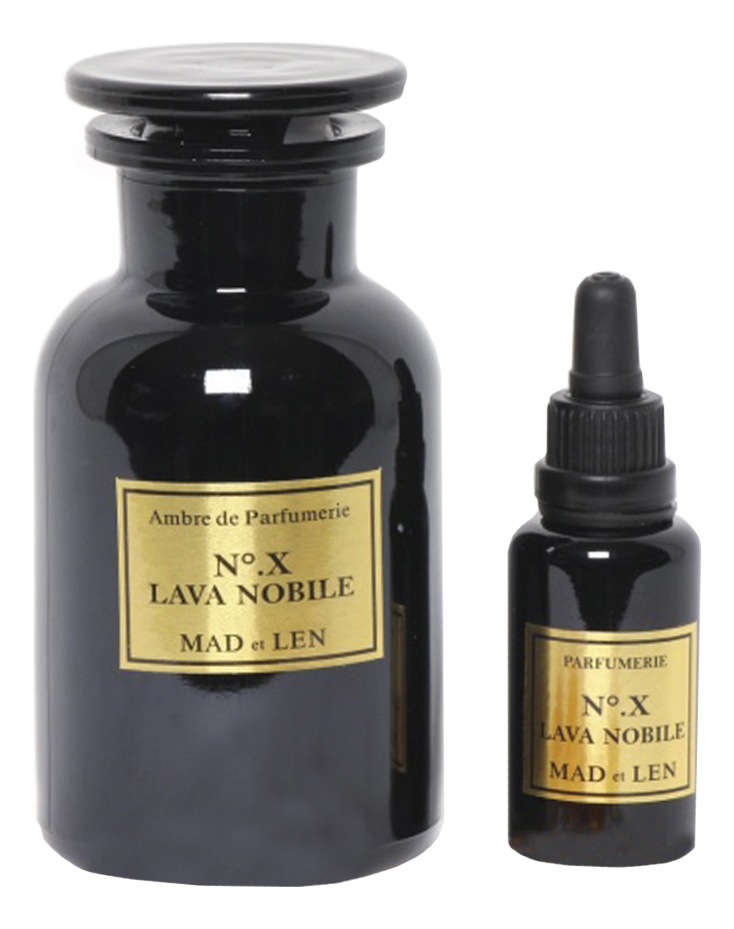 Mad et Len X Lava Nobile: ароматизатор для помещений (амбра) 250г